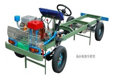 拖拉机整车教学模型