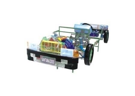 桑塔纳2000型轿车透明整车模型
