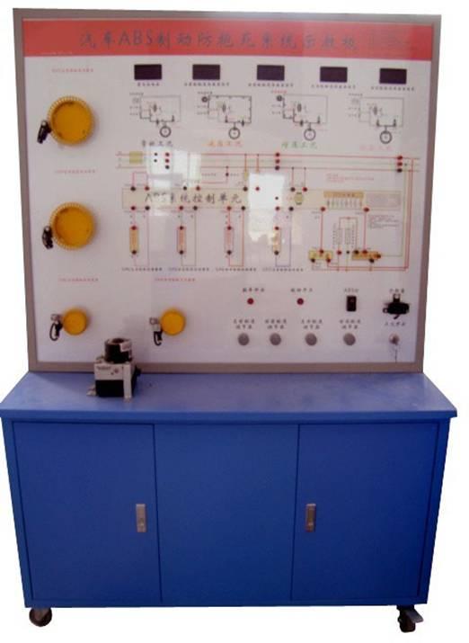 结构组成   abs控制单元、abs电磁阀总成、轮速传感器、制动